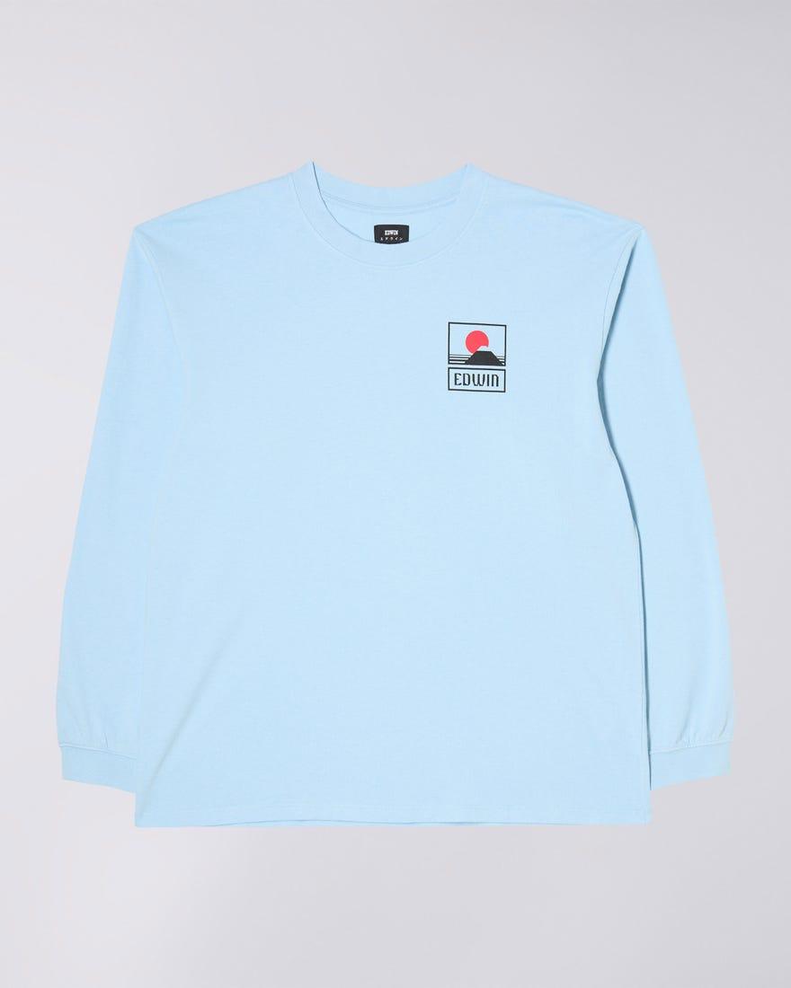 Sunset On Mt Fuji T-Shirt LS
