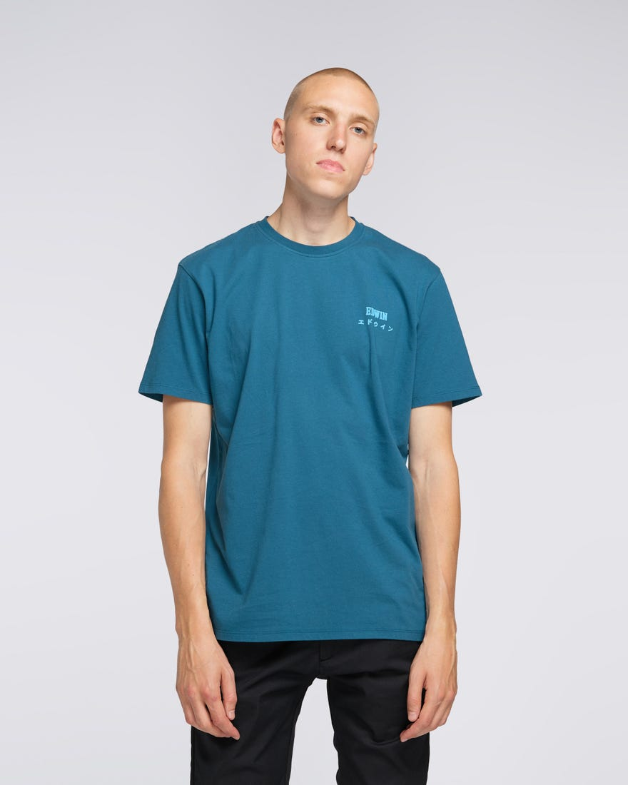 Edwin Logo Chest TS