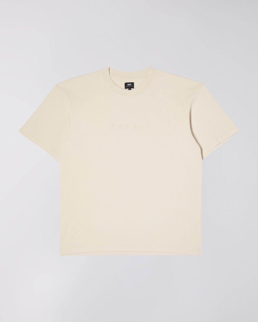 Katakana Embroidery T-Shirt