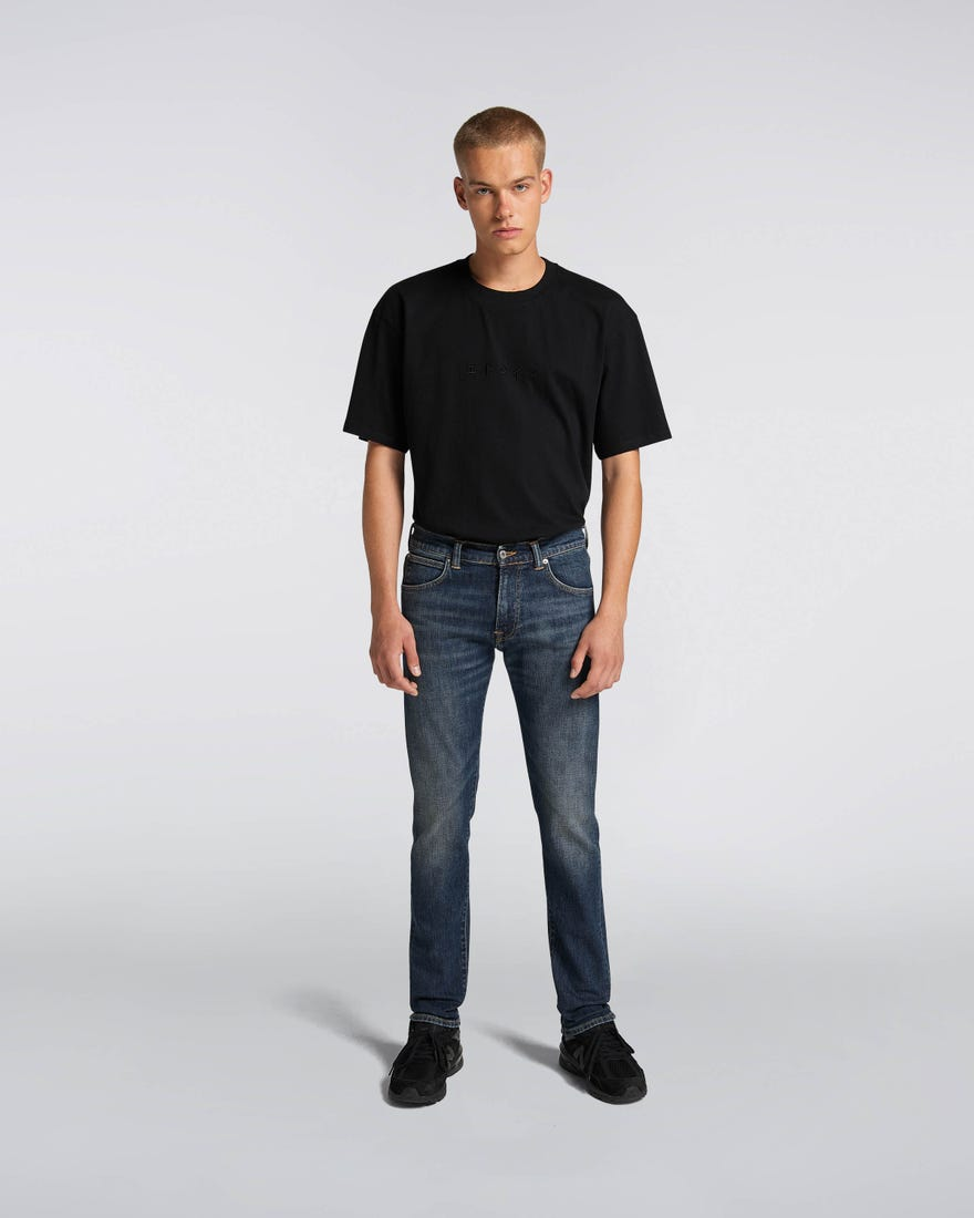 ED-85 Slim Tapered Drop Crotch Jeans