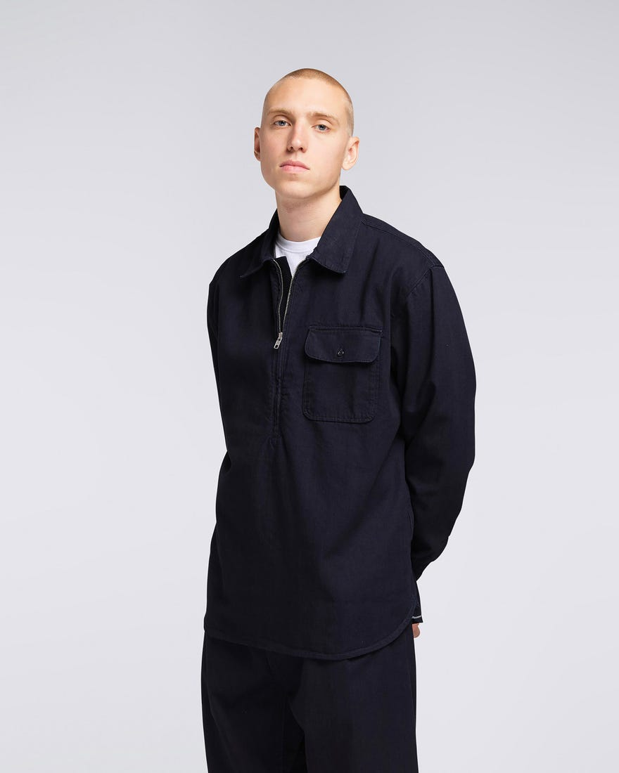 Naval Popover Shirt LS