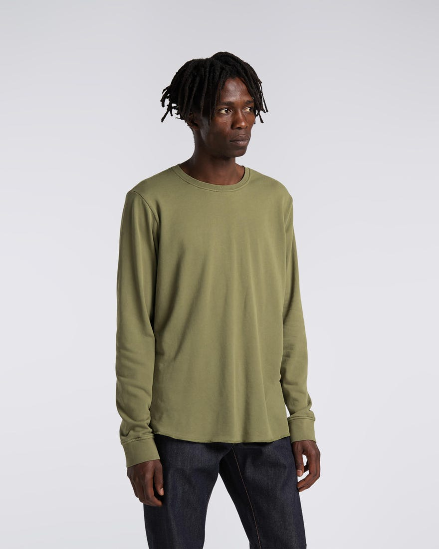 Terry Rib T-Shirt LS