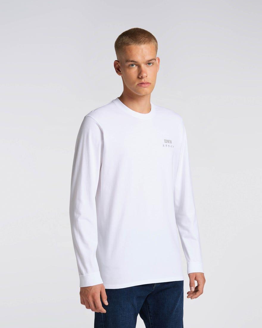 Edwin Logo Chest T-Shirt LS