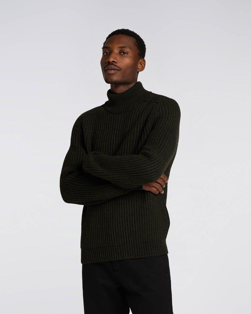 Roni High Collar Sweater