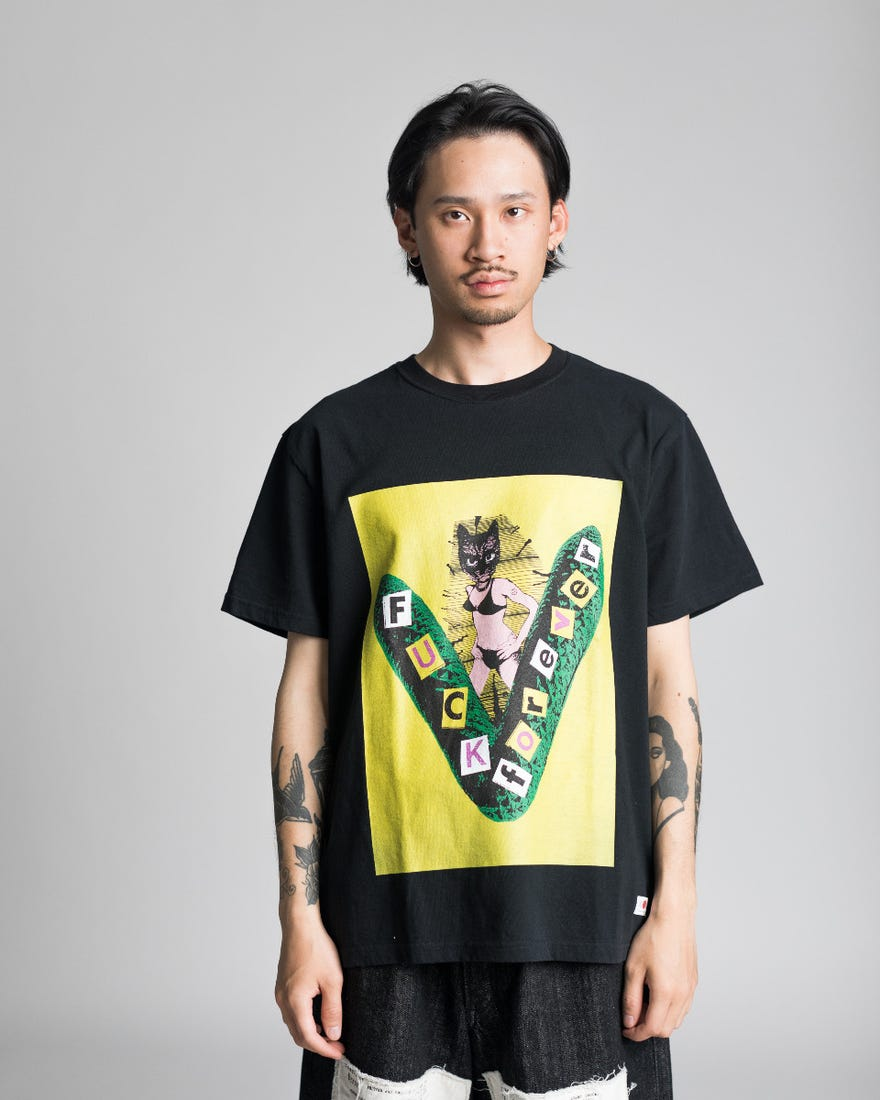 Kidill Yellow Print T-Shirt