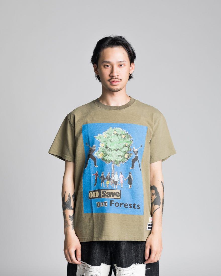 Kidill Blue Print T-Shirt