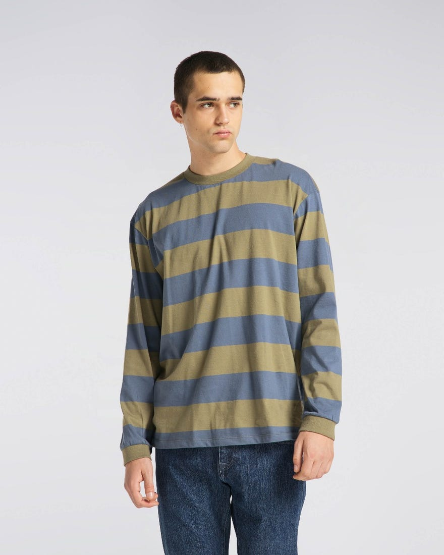 Quarter Rib T-Shirt LS