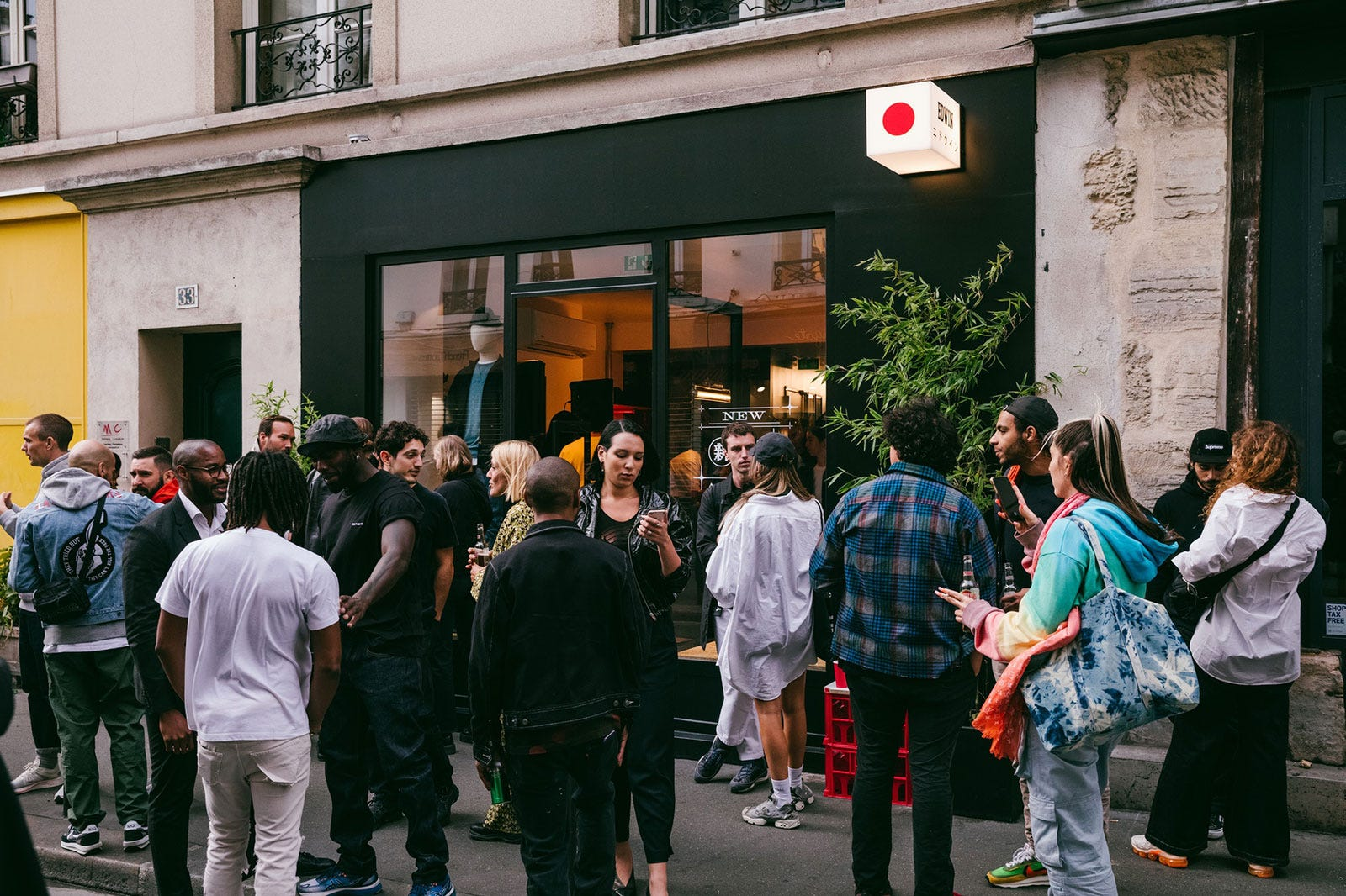Paris Store Relaunch