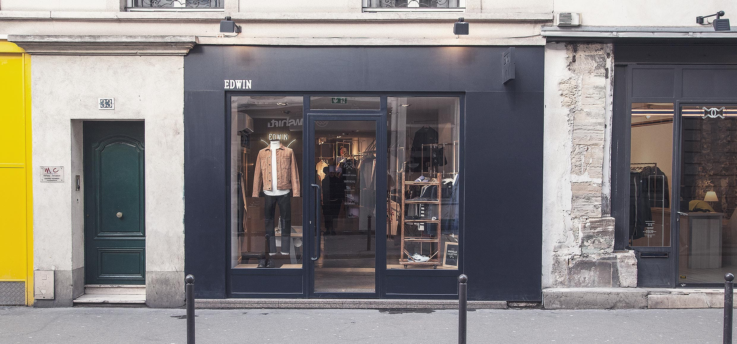 Edwin Store Paris