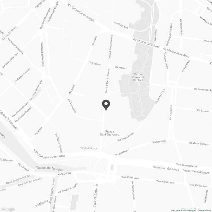 Map of EDWIN Store Milan