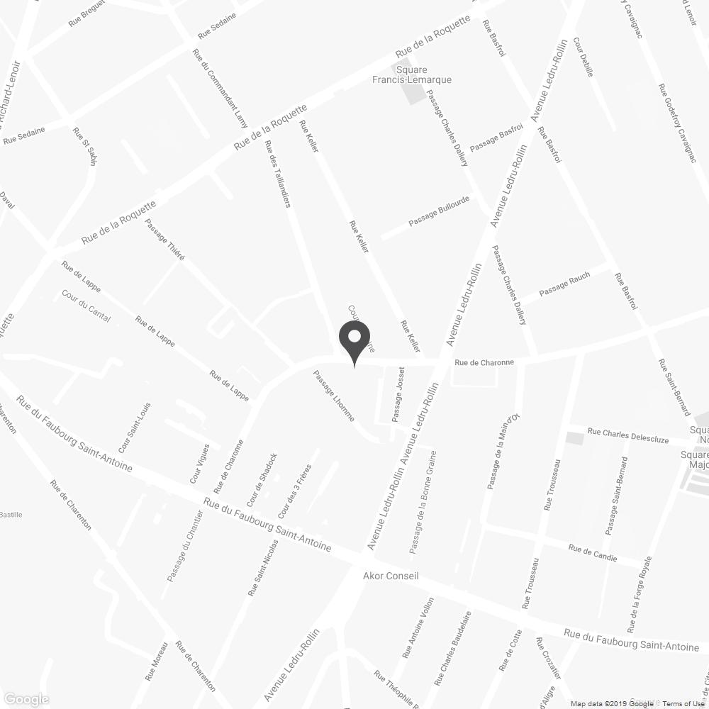 Map of EDWIN Store Paris